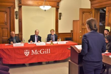 "McGill Air Law ""Speed Moot"" Competition успешно запущен"